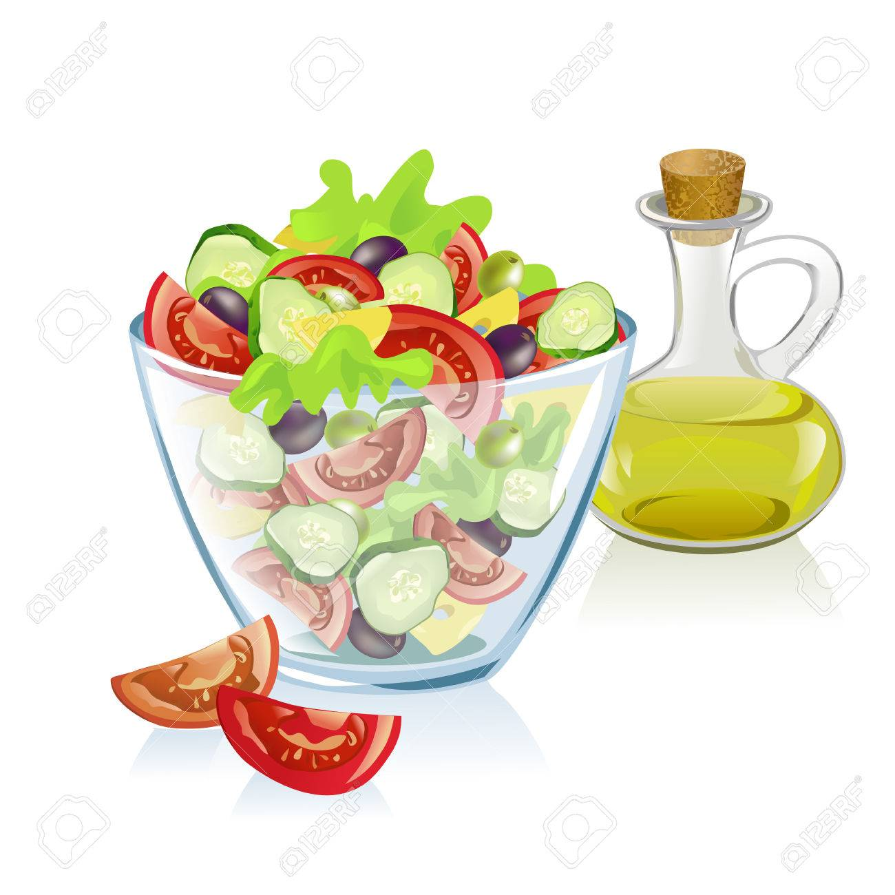 healthy nutrition. vector illustration Standard-Bild - 26233804