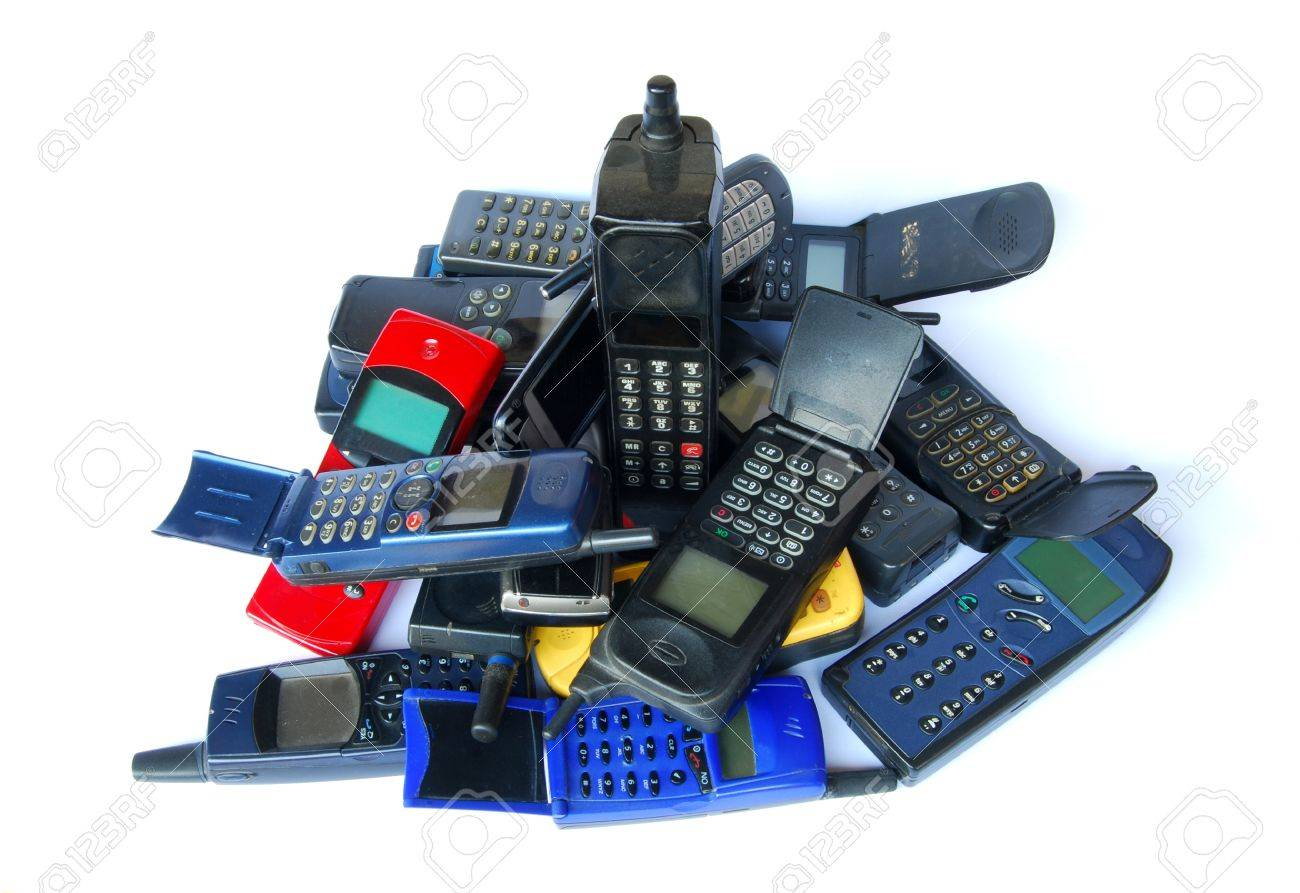 Old phones Stock Photo - 10481159