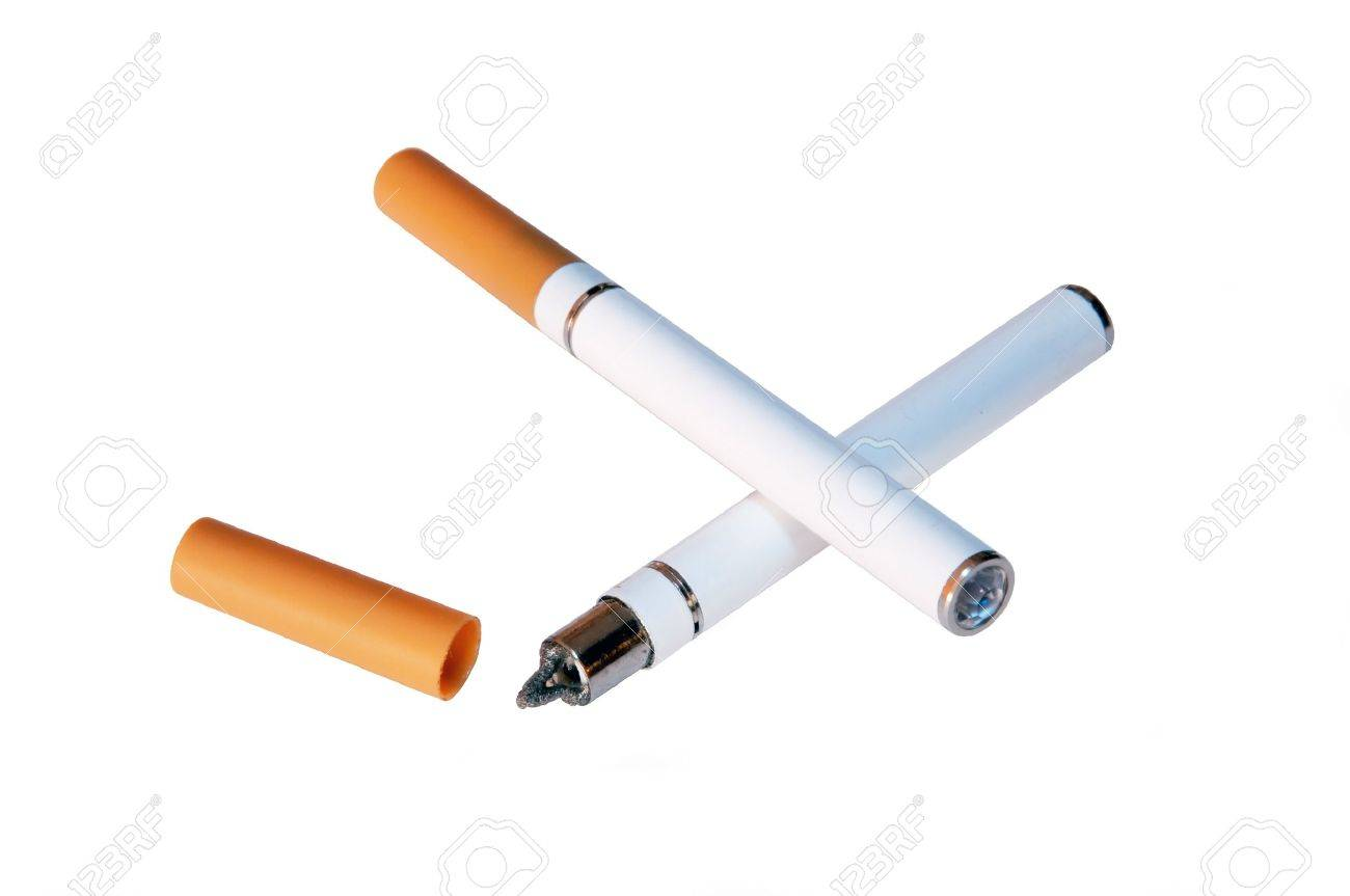 Do electronic cigarettes make your lungs black