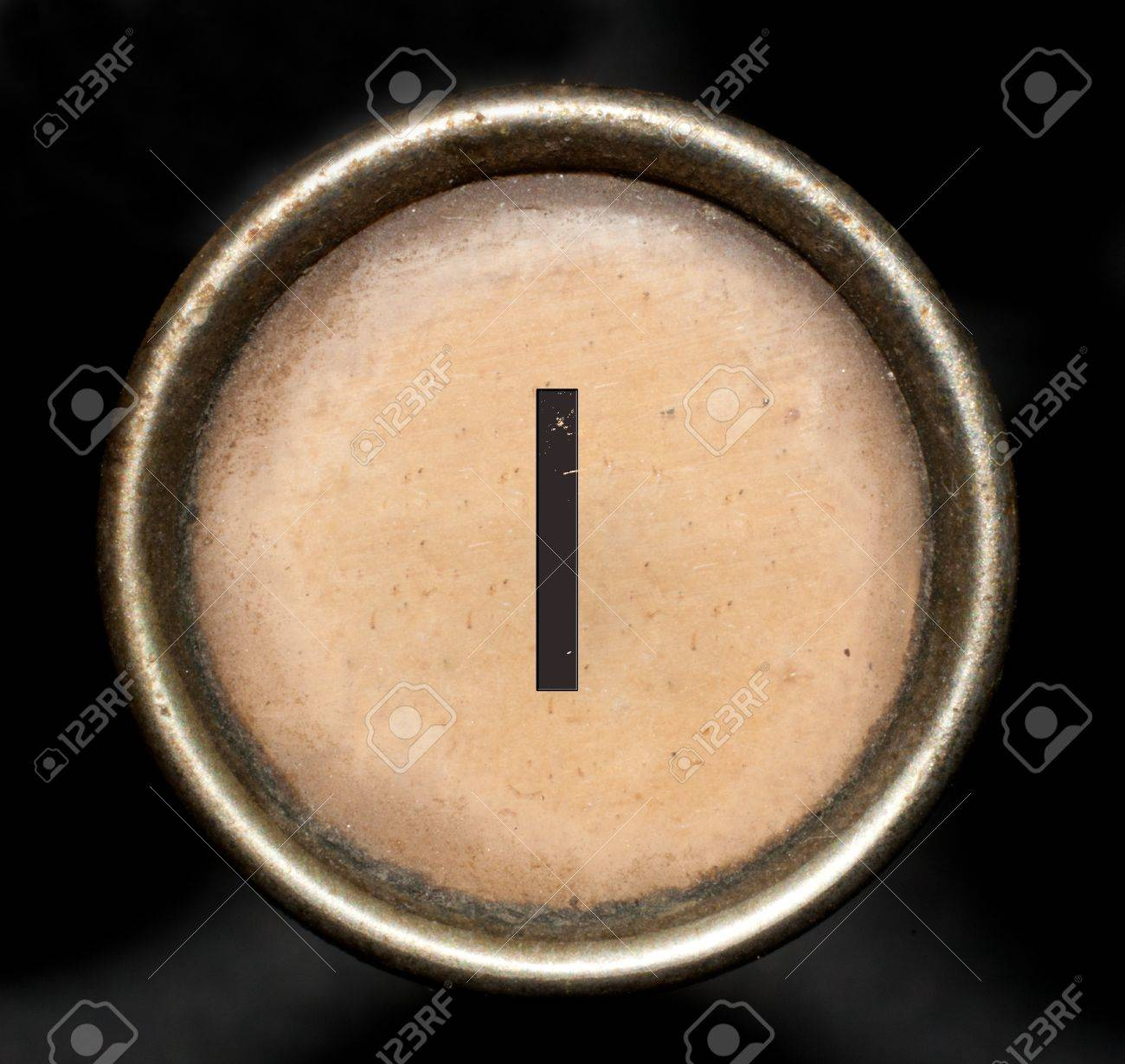 Font consisting of keys of a typewriter Stock Photo - 12833693