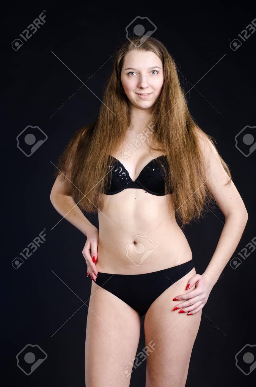 Sexy schwarze Mädchen