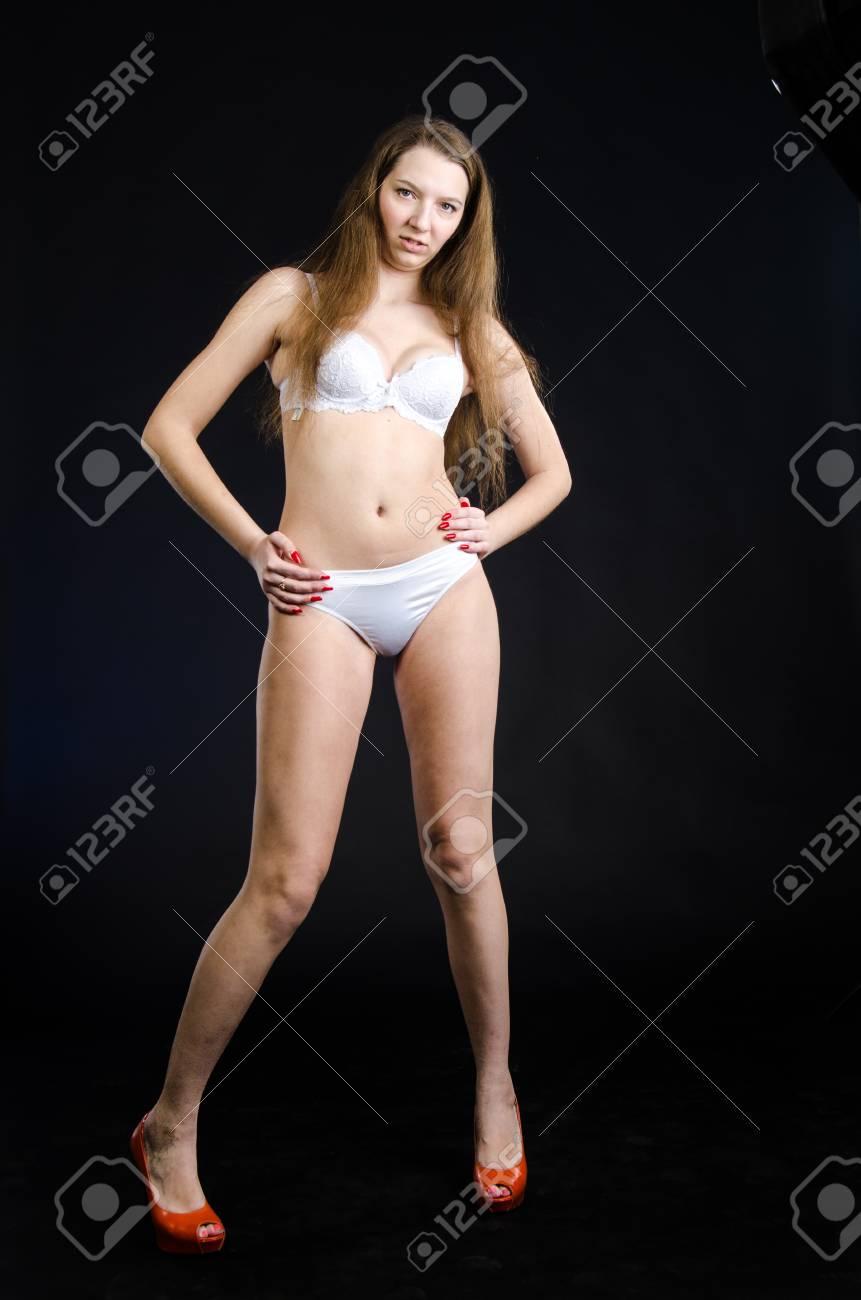 noir sexy fille images