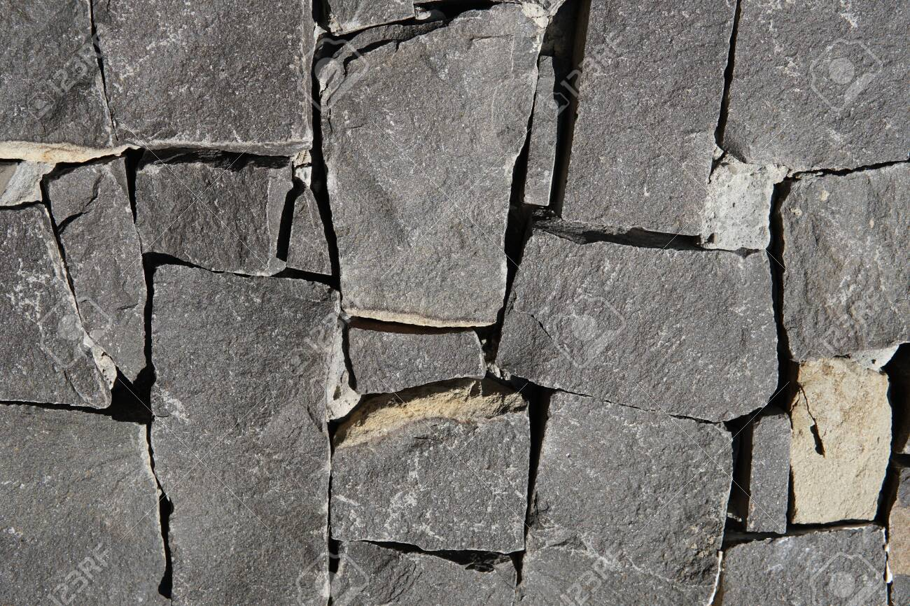 Gray Square Pavement. Seamless Tileable Texture - 137650234