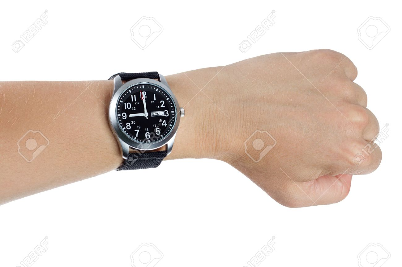 orologio mano