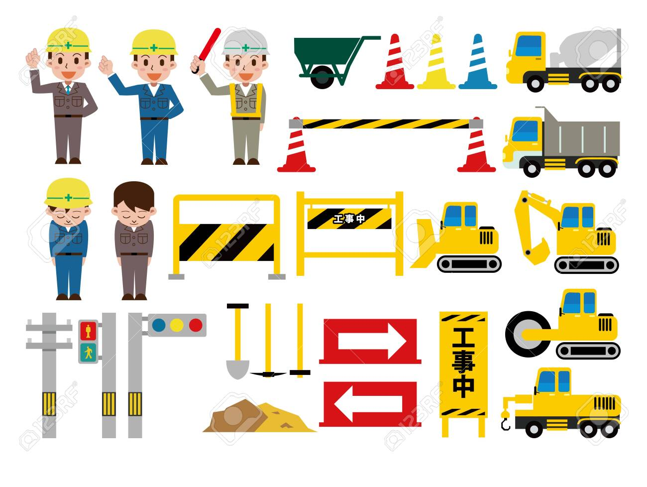 Civil Engineering Site Set - 147719252