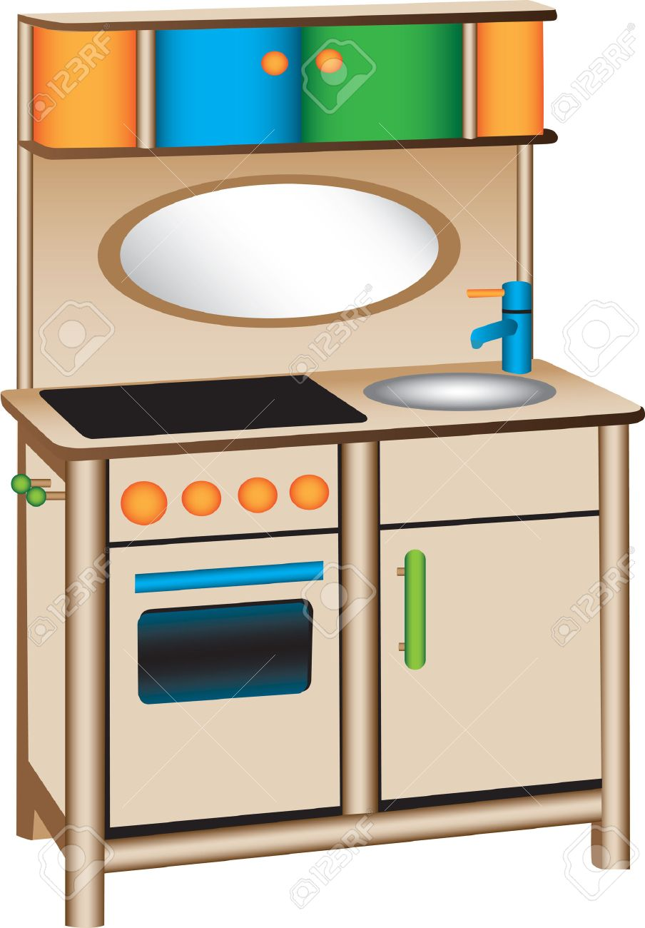 2,482 kitchen faucet stock vector illustration and royalty free