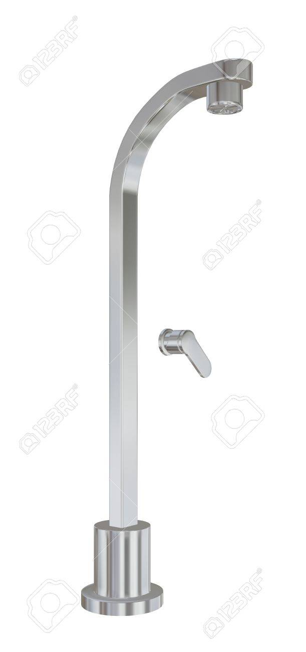 modern shower fixtures with chrome finishing d illustration  - illustration  modern shower fixtures with chrome finishing dillustration isolated against a white background