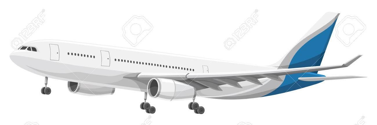 離陸する航空機のイラストのイラスト素材ベクタ Image 37604778