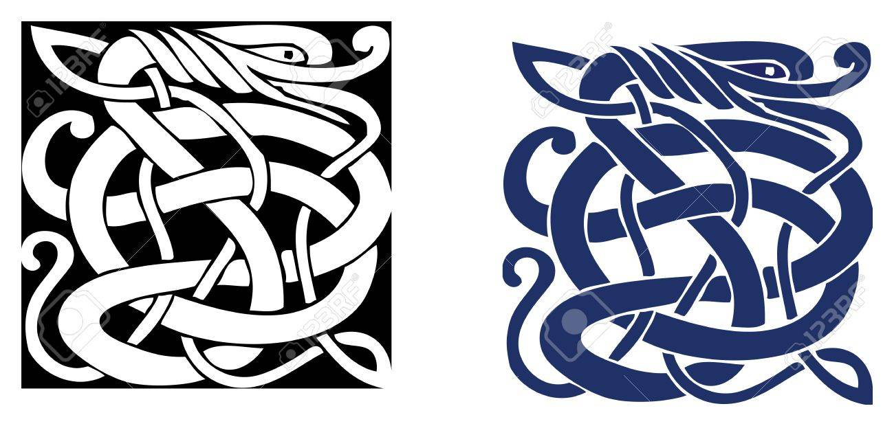 Complex Celtic Symbol Great For Tattoo Can Be Fully Modified