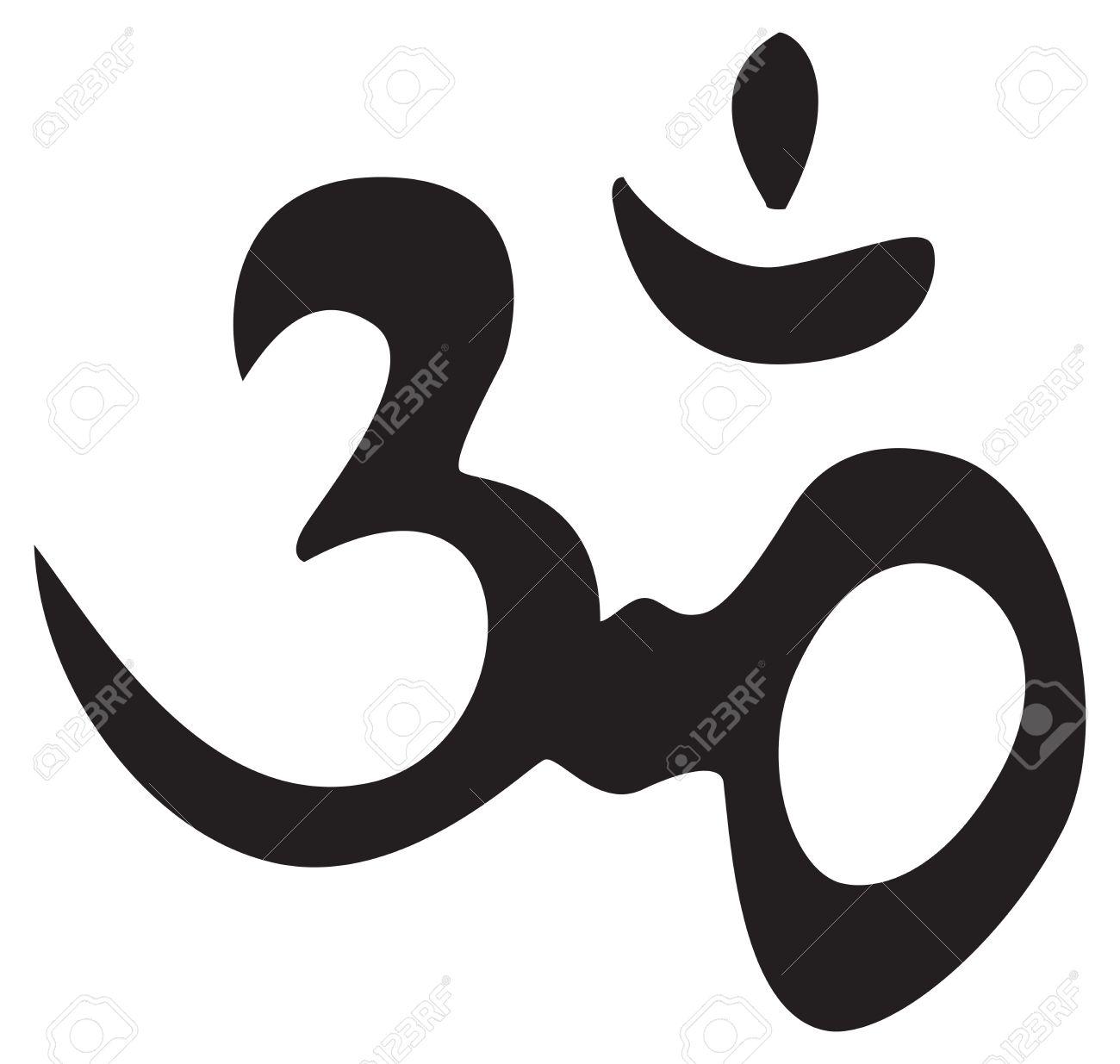 Eternal hindu symbol om sign symbol for tattoo or artwork eternal hindu symbol om sign symbol for tattoo or artwork vector stock buycottarizona