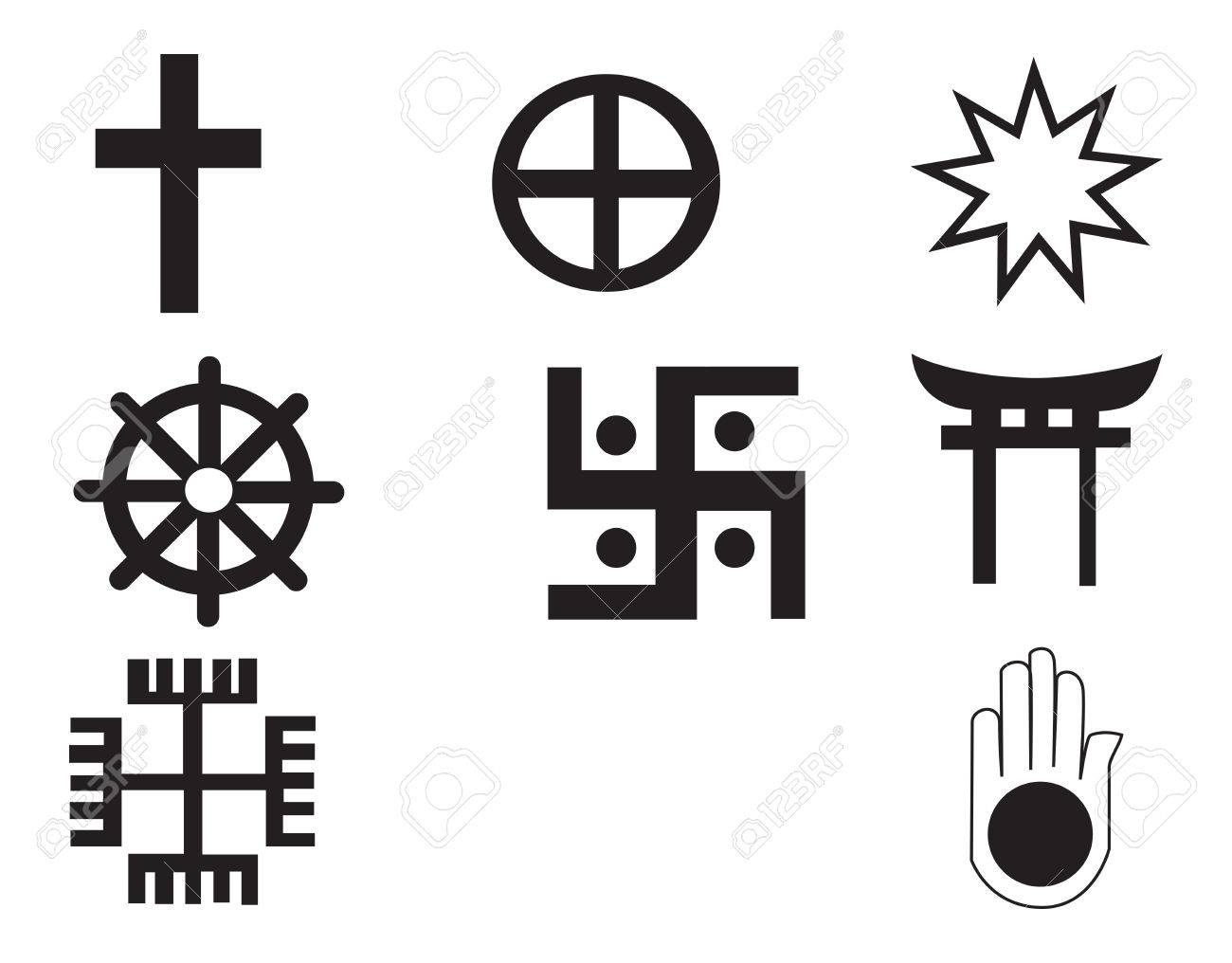 Different religions symbols royalty free cliparts vectors and different religions symbols stock vector 38577261 buycottarizona