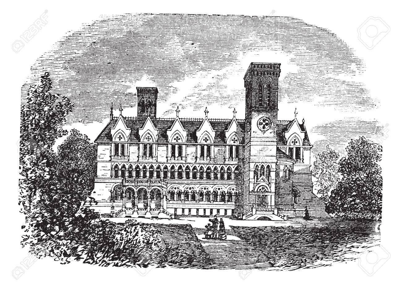 古いは、パーデュー大学の建物、...