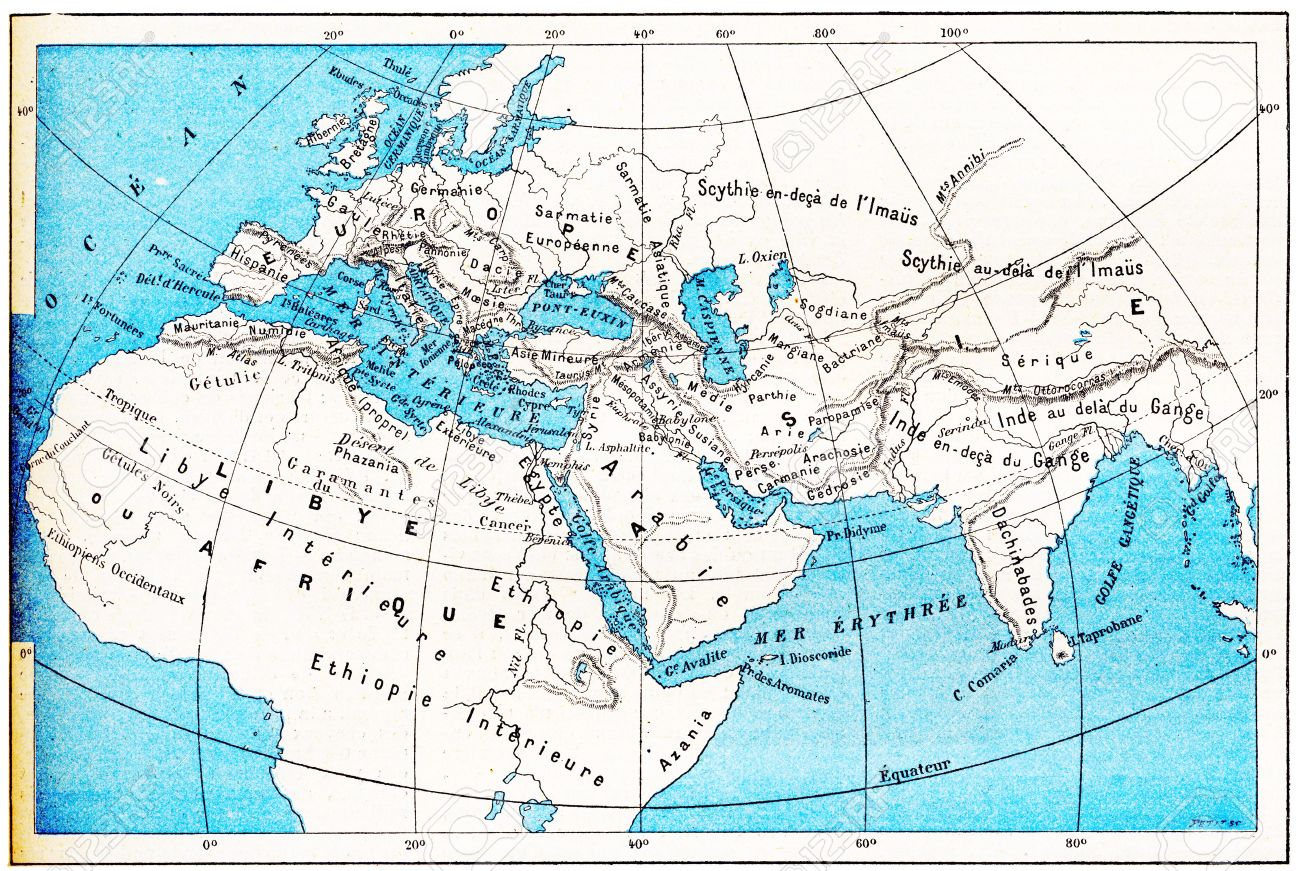 Map Of Ancient Europe And Asia – Map of Europe Asia