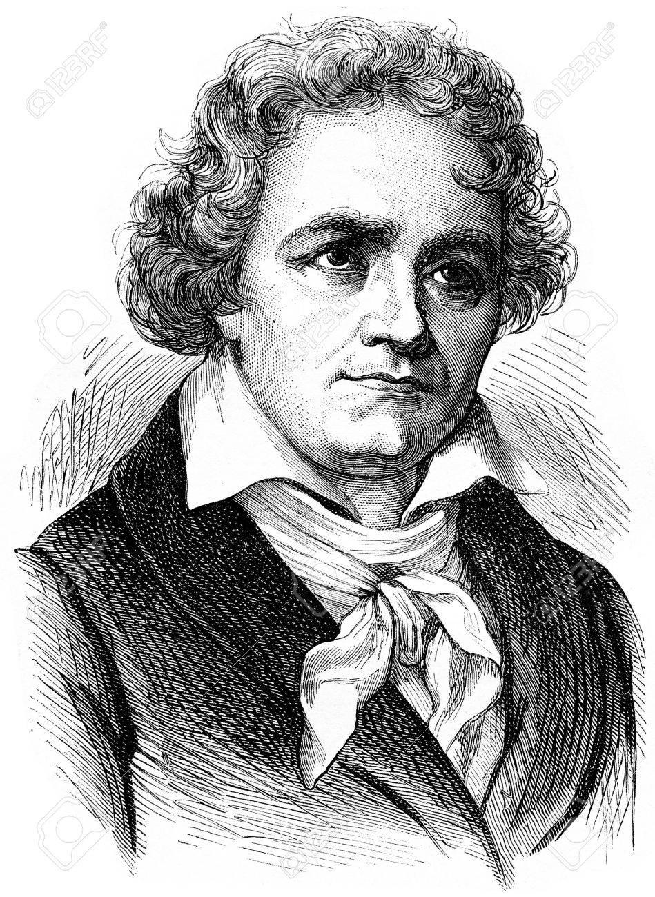 Beethoven, vintage engraved illustration. History of France – 1885. - 39824466