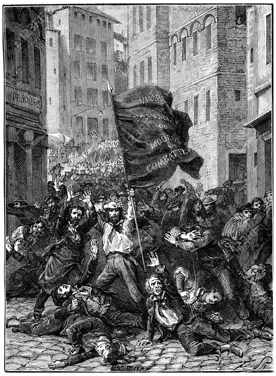 リヨンの反乱、ヴィンテージには...