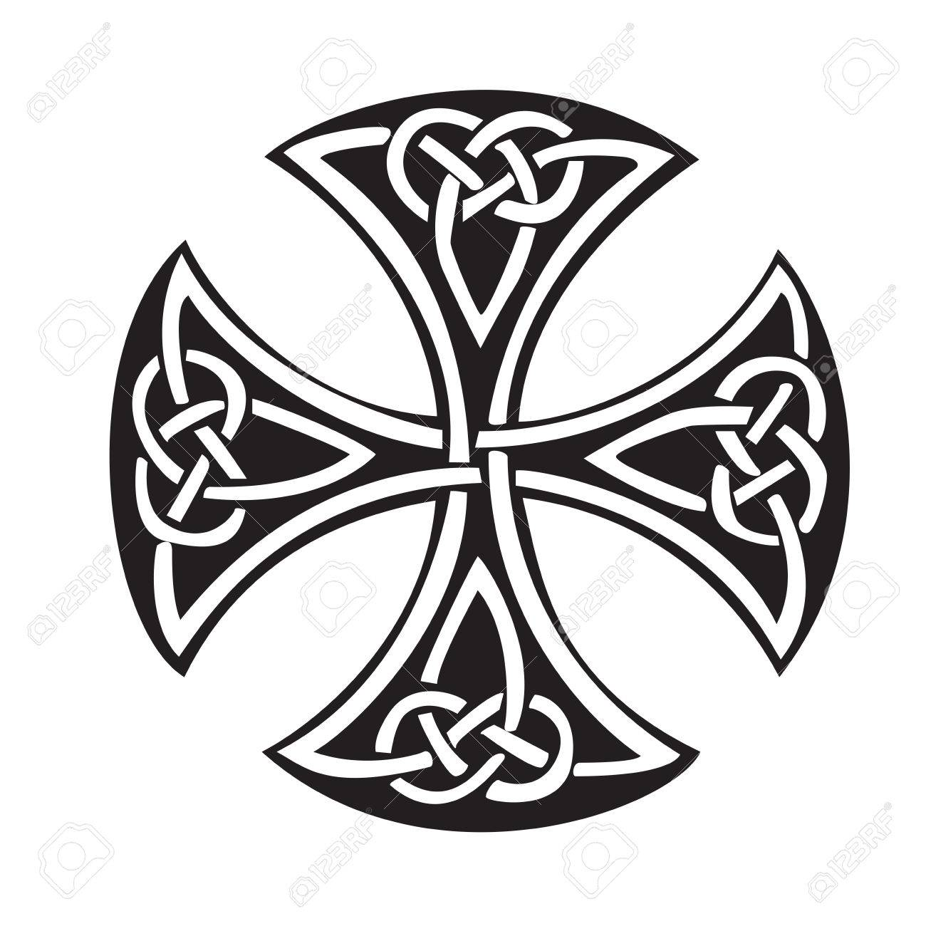 celtic cross royalty free cliparts vectors and stock illustration rh 123rf com celtic cross vector file ornate celtic cross vector