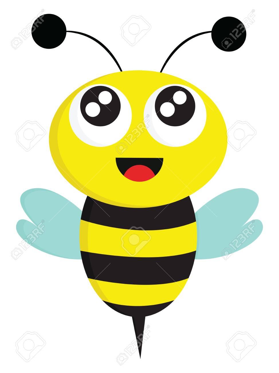Bee Wings Drawing Cartoon