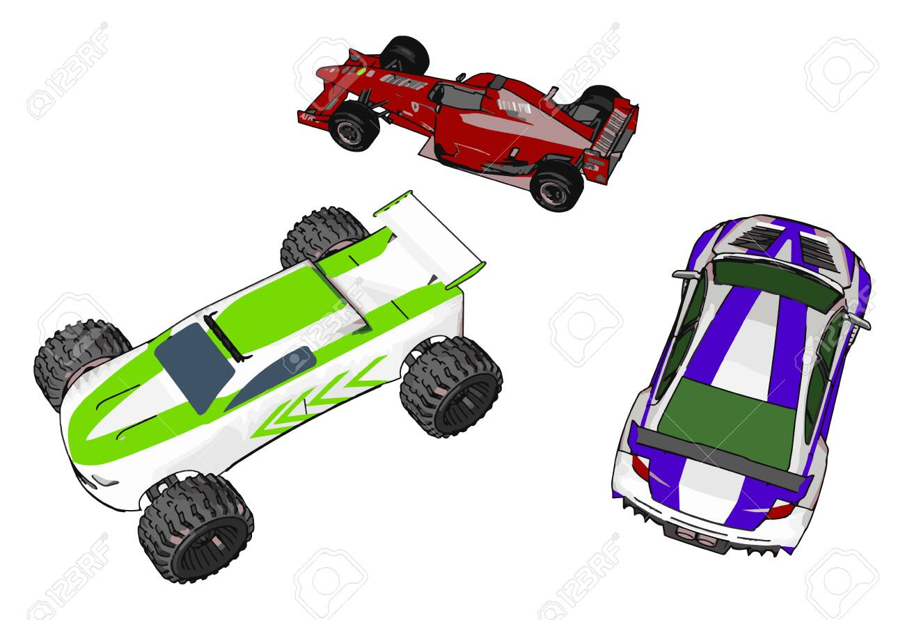 - These Toy Cars Are Easily Available In Toy Shop To Attract Kids