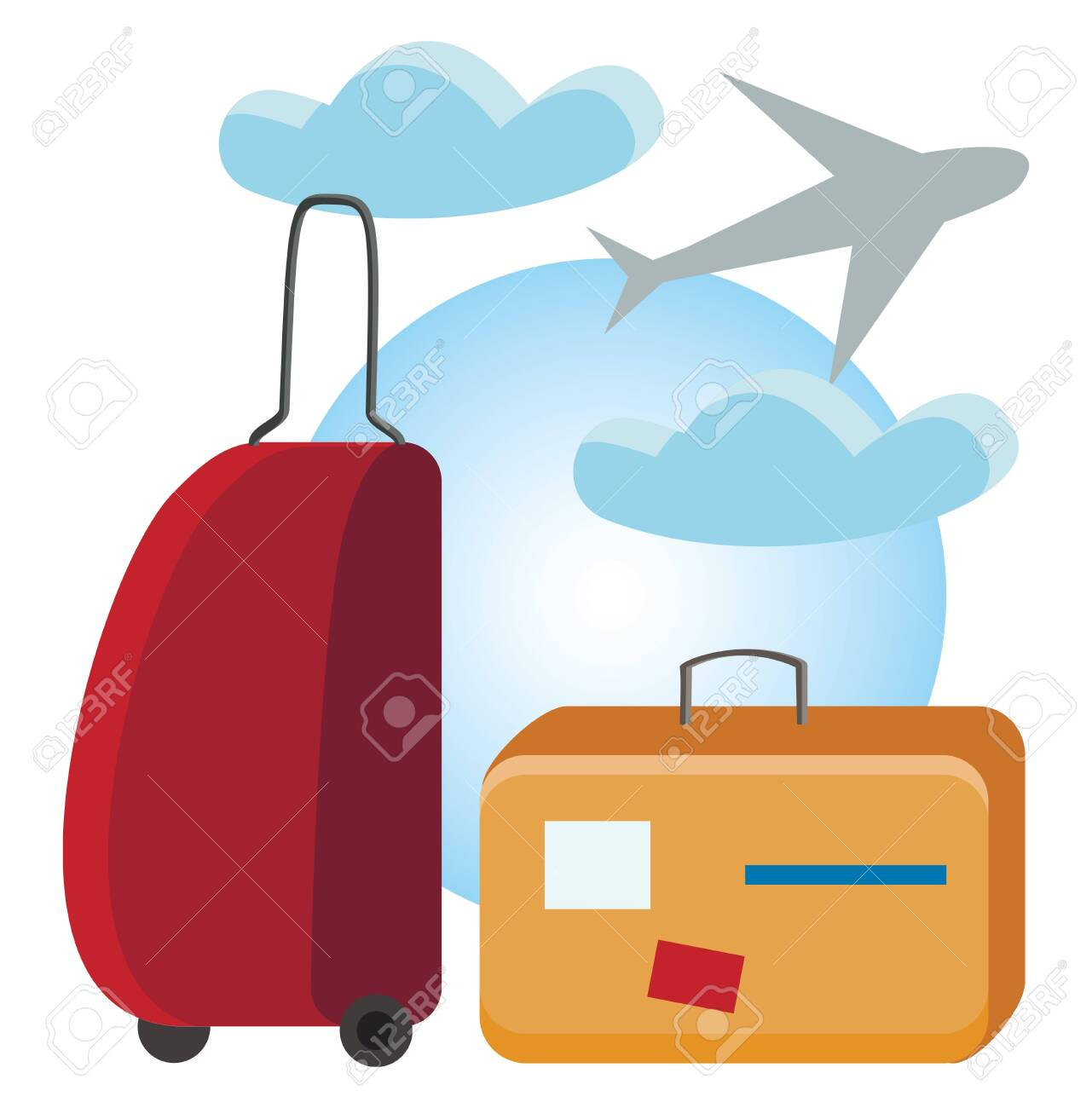 Travel Euclidean Vector Royalty-free Clip Art - Travel And Tourism Design,  HD Png Download , Transparent Png Image - PNGitem