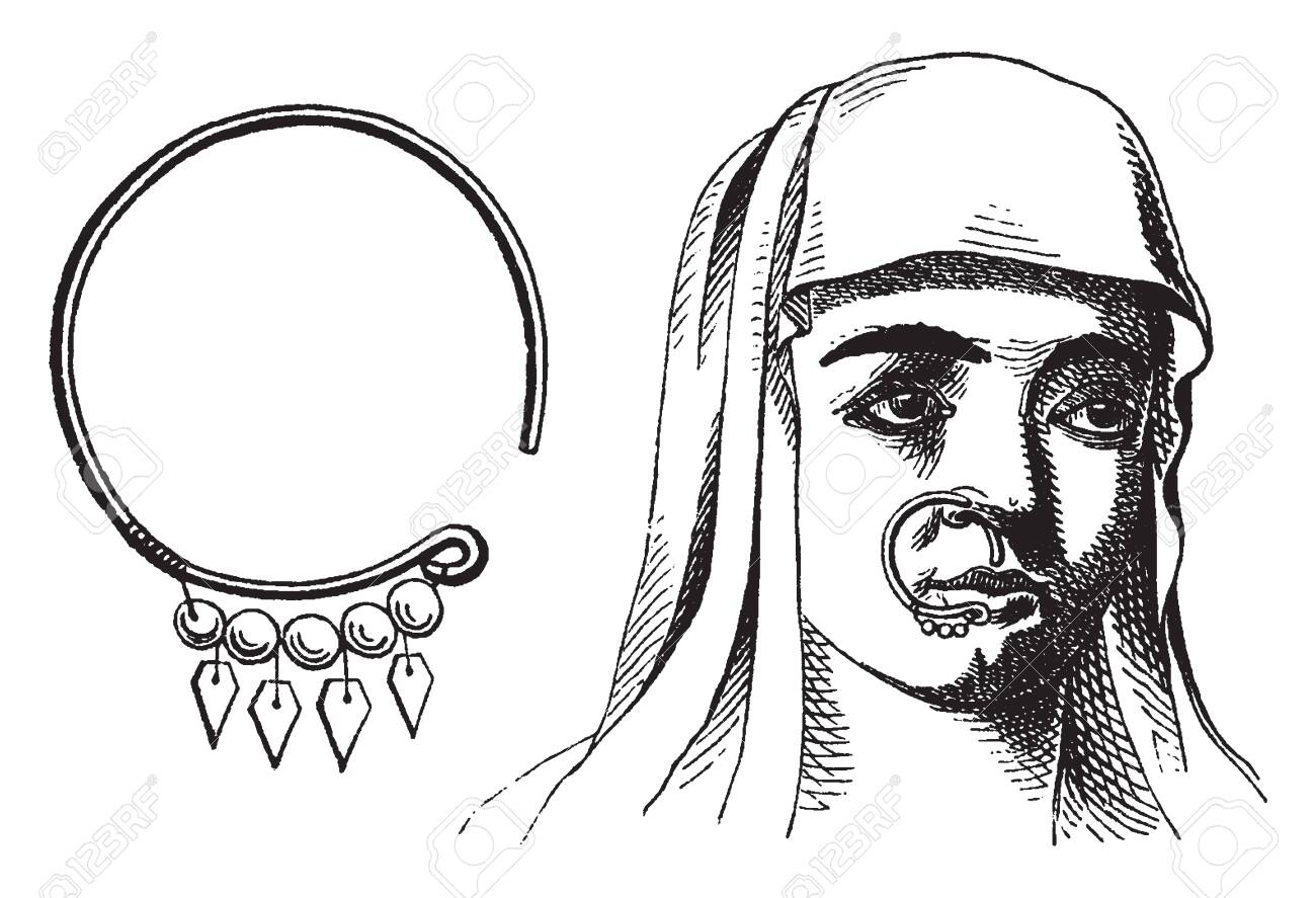 Nose Ring Where Israeli Women Would Often Wear Rings Not Just