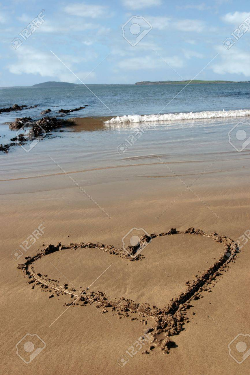 Beaches: Sky Sea Heart Ocean Nature Splendor Love Beach Sand Waves ...