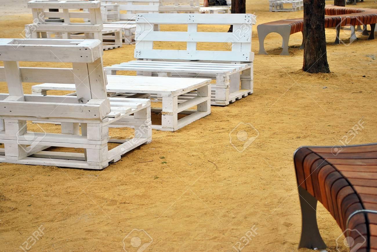Stock photo urban furniture