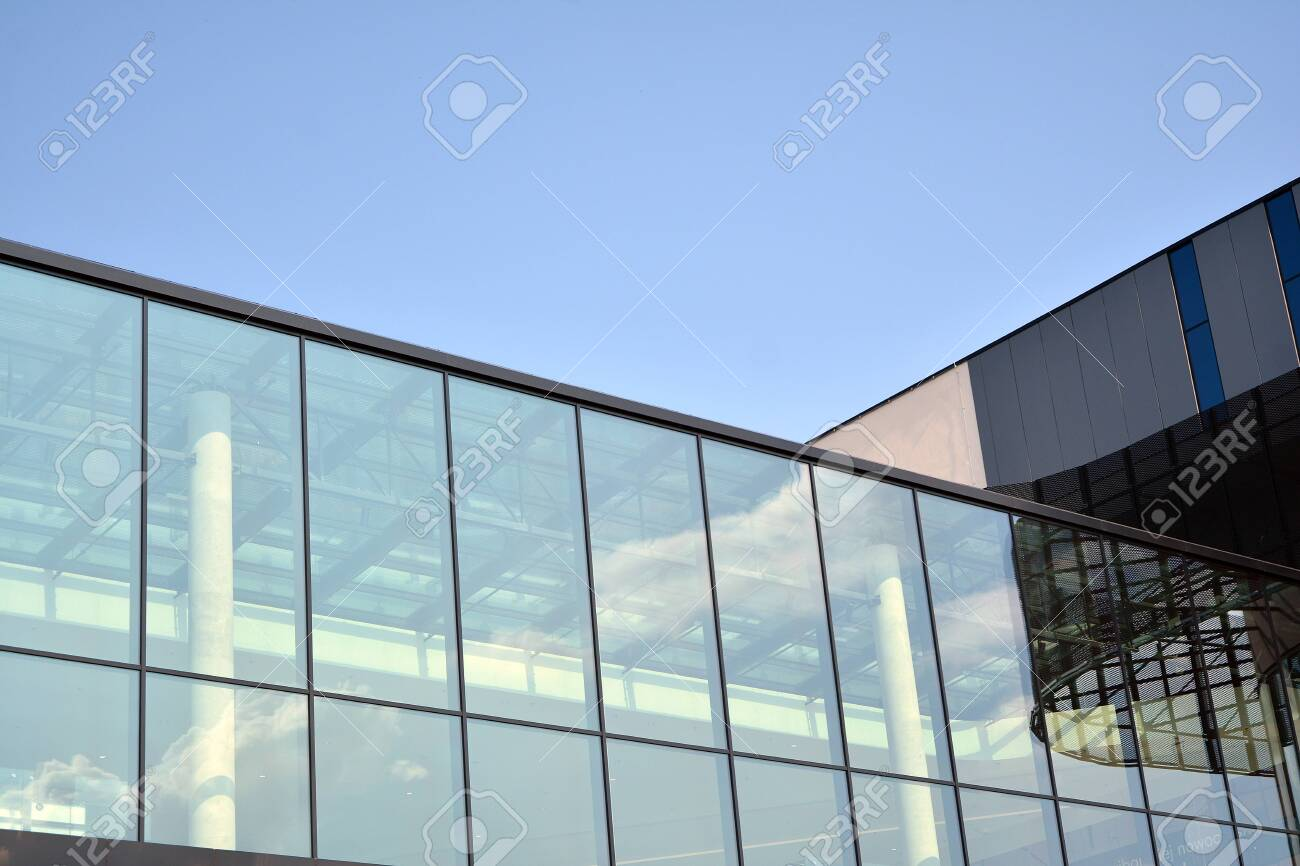 Facade Fragment Of A Modern Office Building Exterior Of Glass Stock Photo Picture And Royalty Free Image Image 130815691