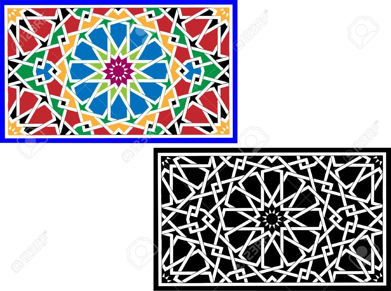 Islamic pattern Stock Vector - 11659756