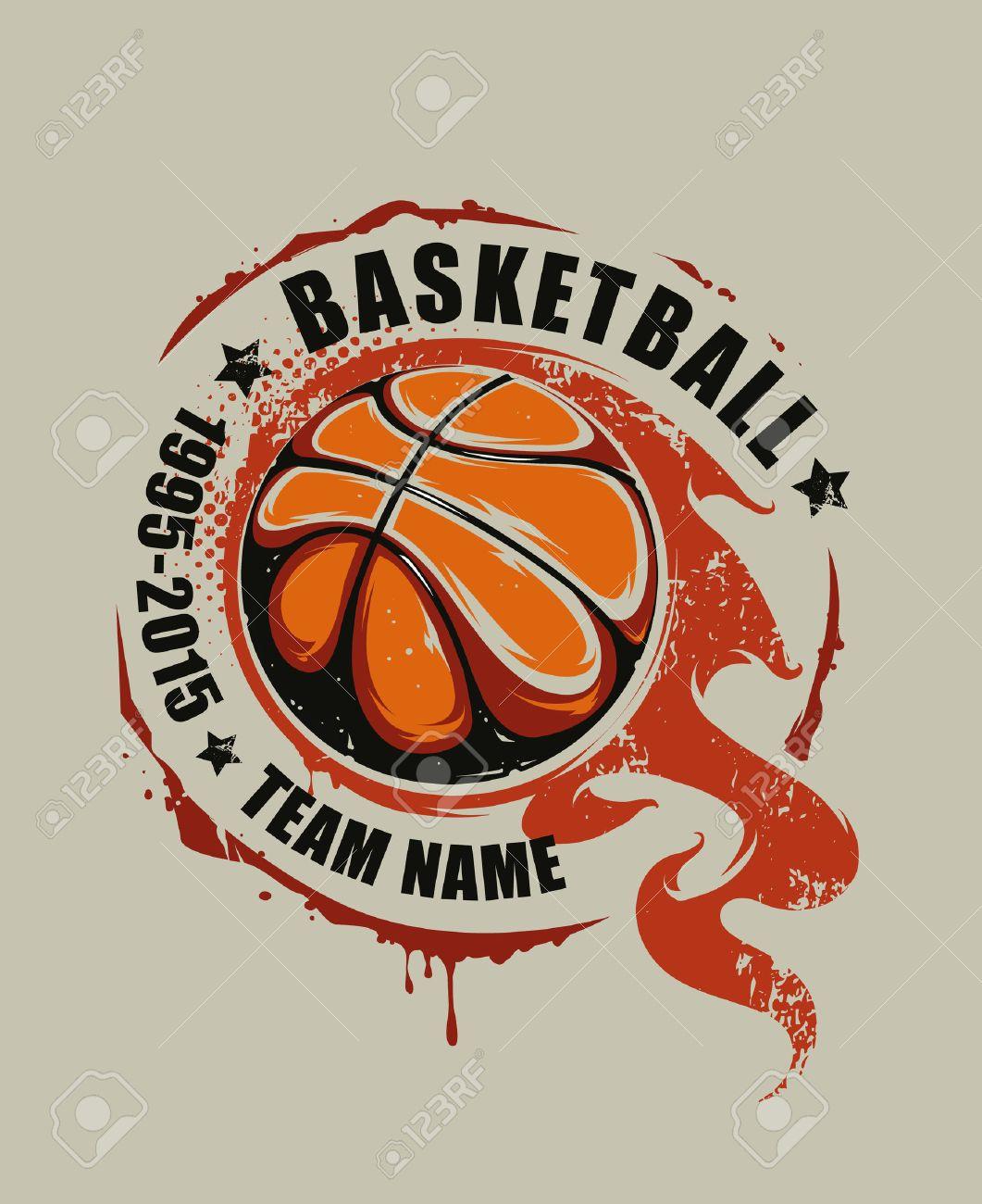 Graffiti Design Basketball
