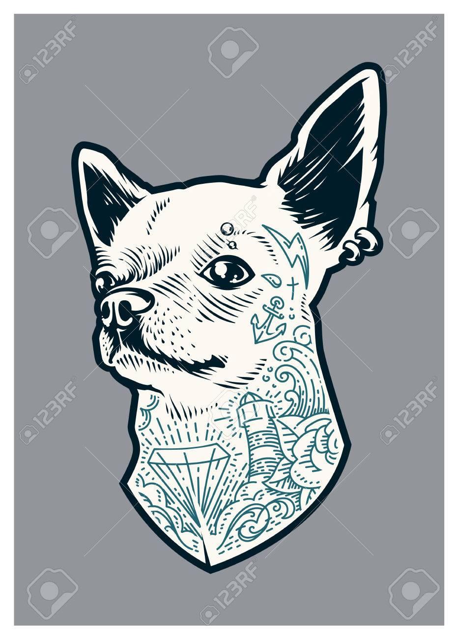 Old School Animal Tattoos