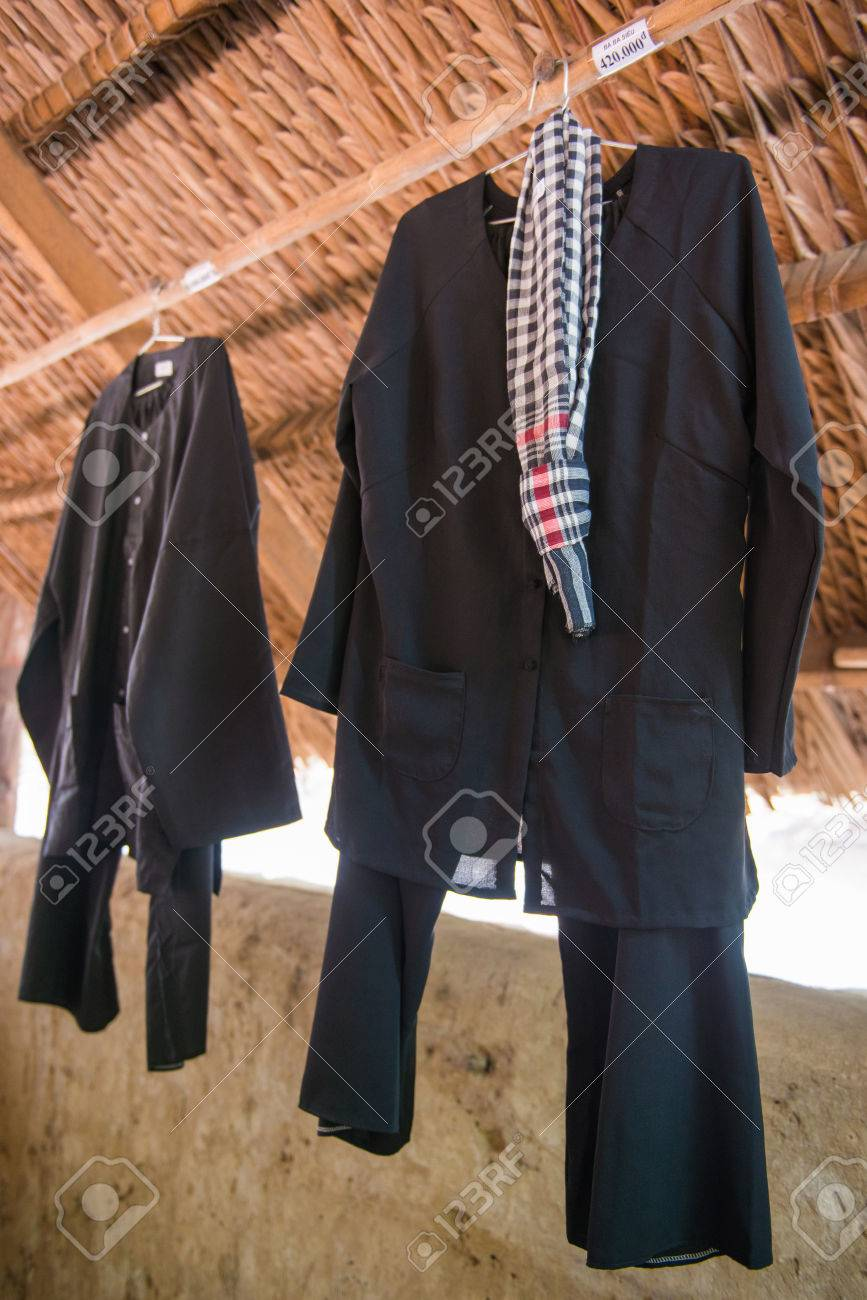 Ho Chi Minh City, Vietnam Mar 17: military uniforms from the