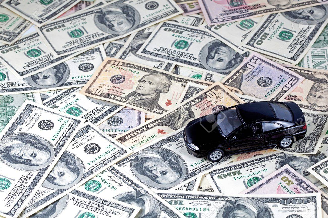 Money For Car Purchase Stock Photo, Picture And Royalty Free Image ...