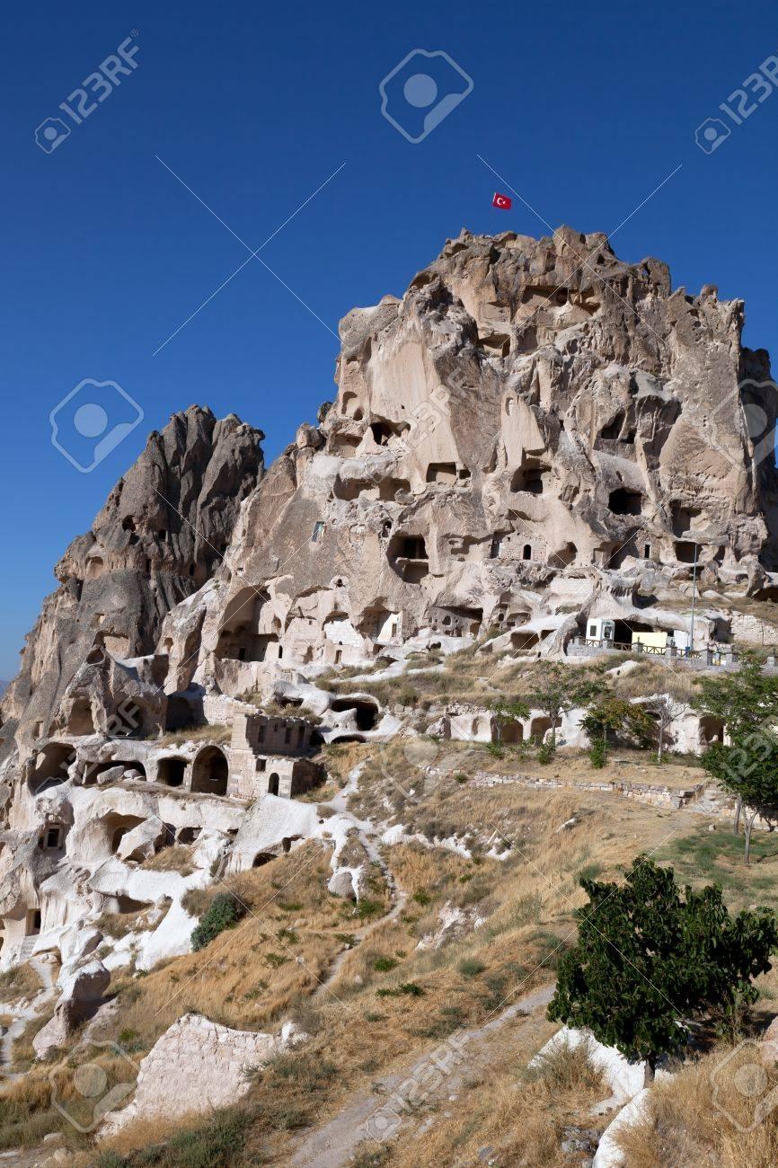 Cheminees De Fees Celebres En Turquie Uchisar Banque D Images Et