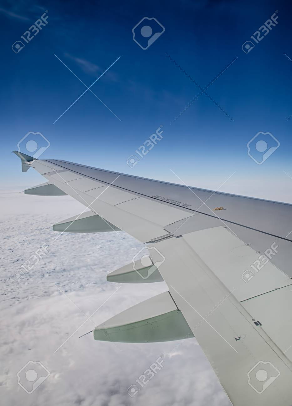 View of clouds from a airplane window  HDR image Stock Photo - 16254751