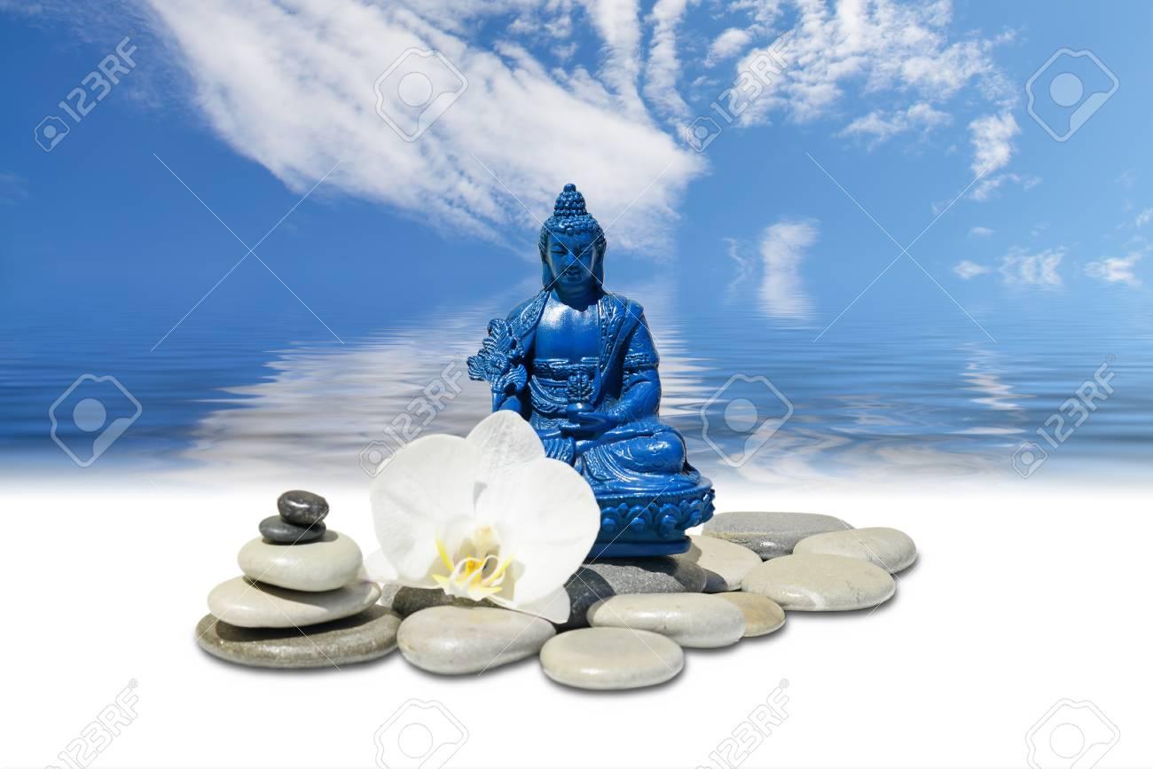 Zen Or Feng-Shui Background-Blue Medicine Buddha Bhaisajyaguru,zen ...