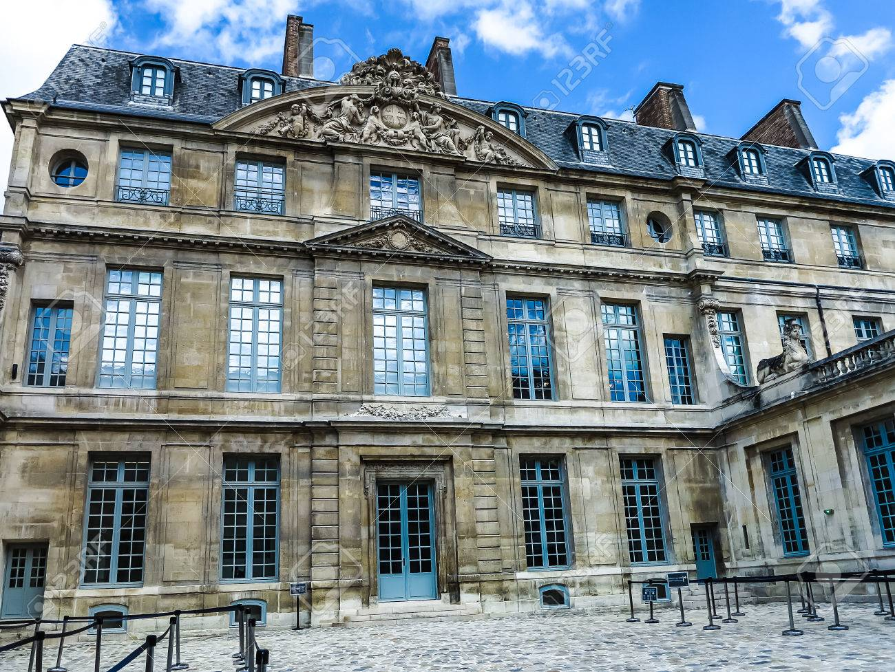 Museo Picasso Paris.Paris France July 28 2016 The Musee Picasso Is An Art Gallery