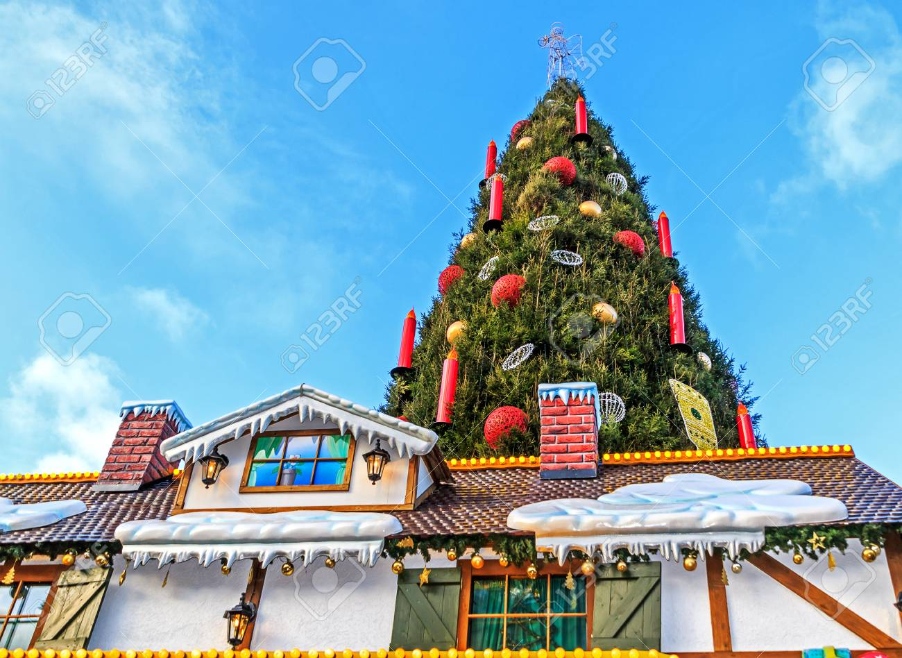 Christmas Market In The German Town Of Dortmund Stock Photo Picture And Royalty Free Image Image 95395288