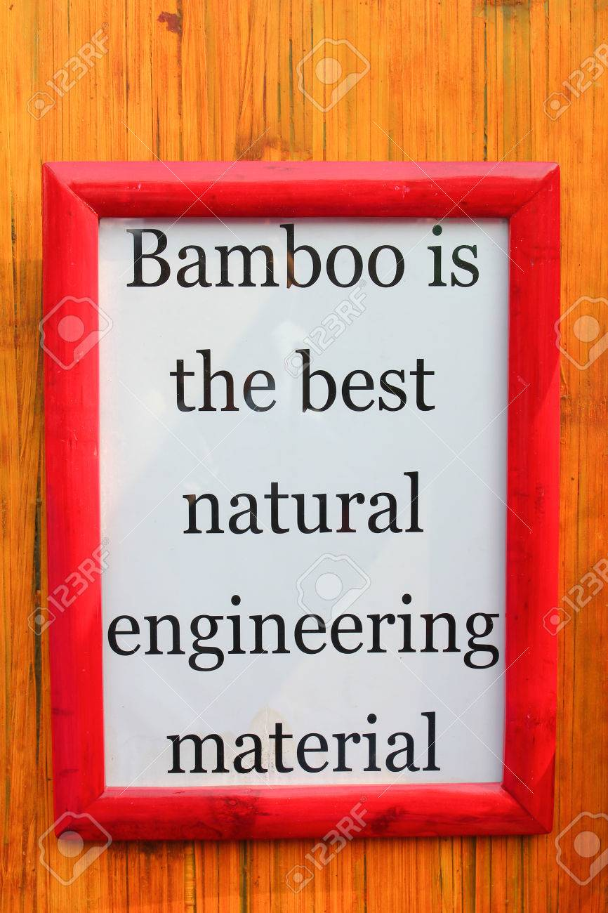 White frame with bamboo importance quote on stripe background white frame with bamboo importance quote on stripe background stock photo 55994017 jeuxipadfo Gallery