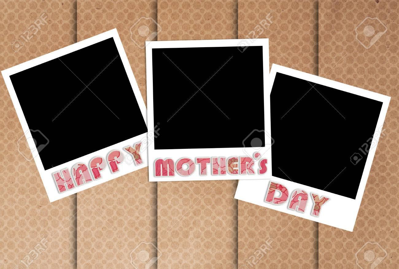 Glücklicher Muttertag Bilderrahmen Auf Designer-Tapeten, Die ...