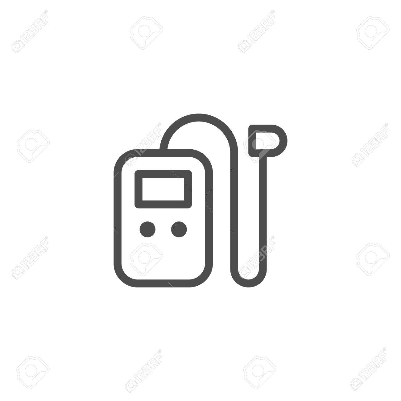 Hearing Aid Line Icon Royalty Free Cliparts Vectors And Stock