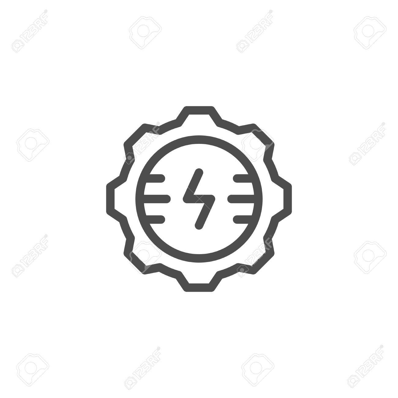 Electrical Engineering Line Icon Royalty Free Cliparts, Vectors, And ...