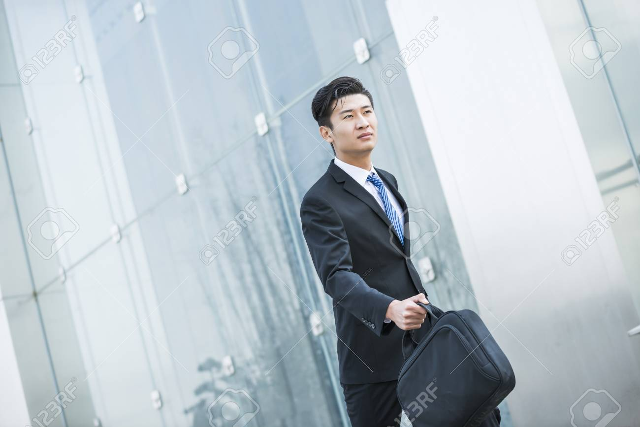 Asian Business Men In Suit Stock Photo, Picture And Royalty Free ...