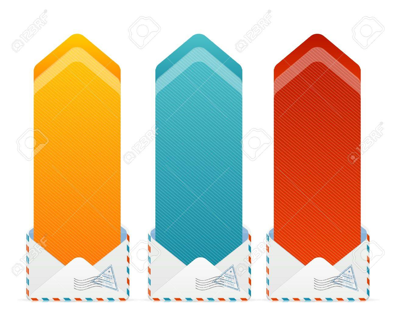Vector Colorful Text Box Arrow Royalty Free Cliparts Vectors And