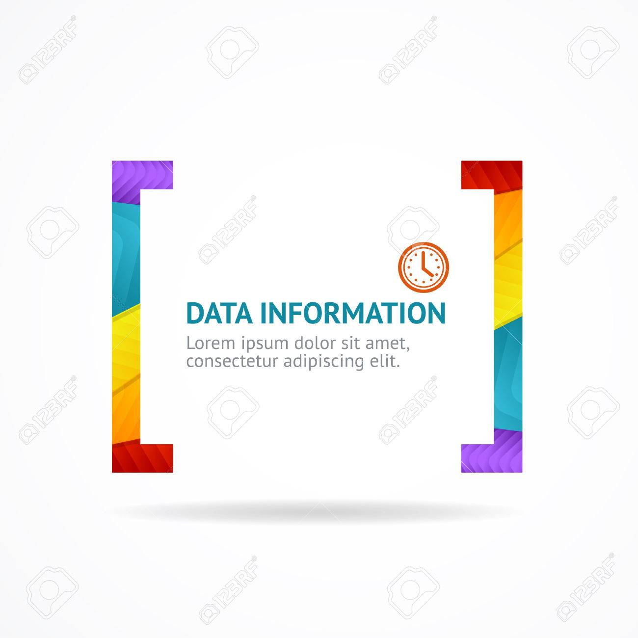 Stock illustration 3d red text quot yes quot stock illustration royalty - Vector Illustration Quotes And Brackets Speech Bubbles Square And Rainbow Quote Isolated On White Background Vector