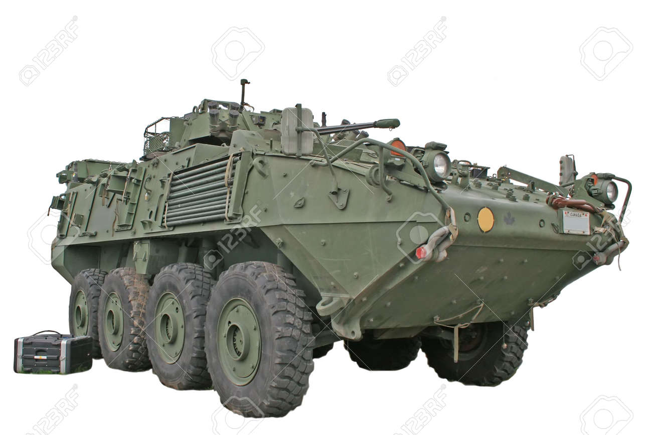 Armoured vehicle Canadian troops use in Afghanistan