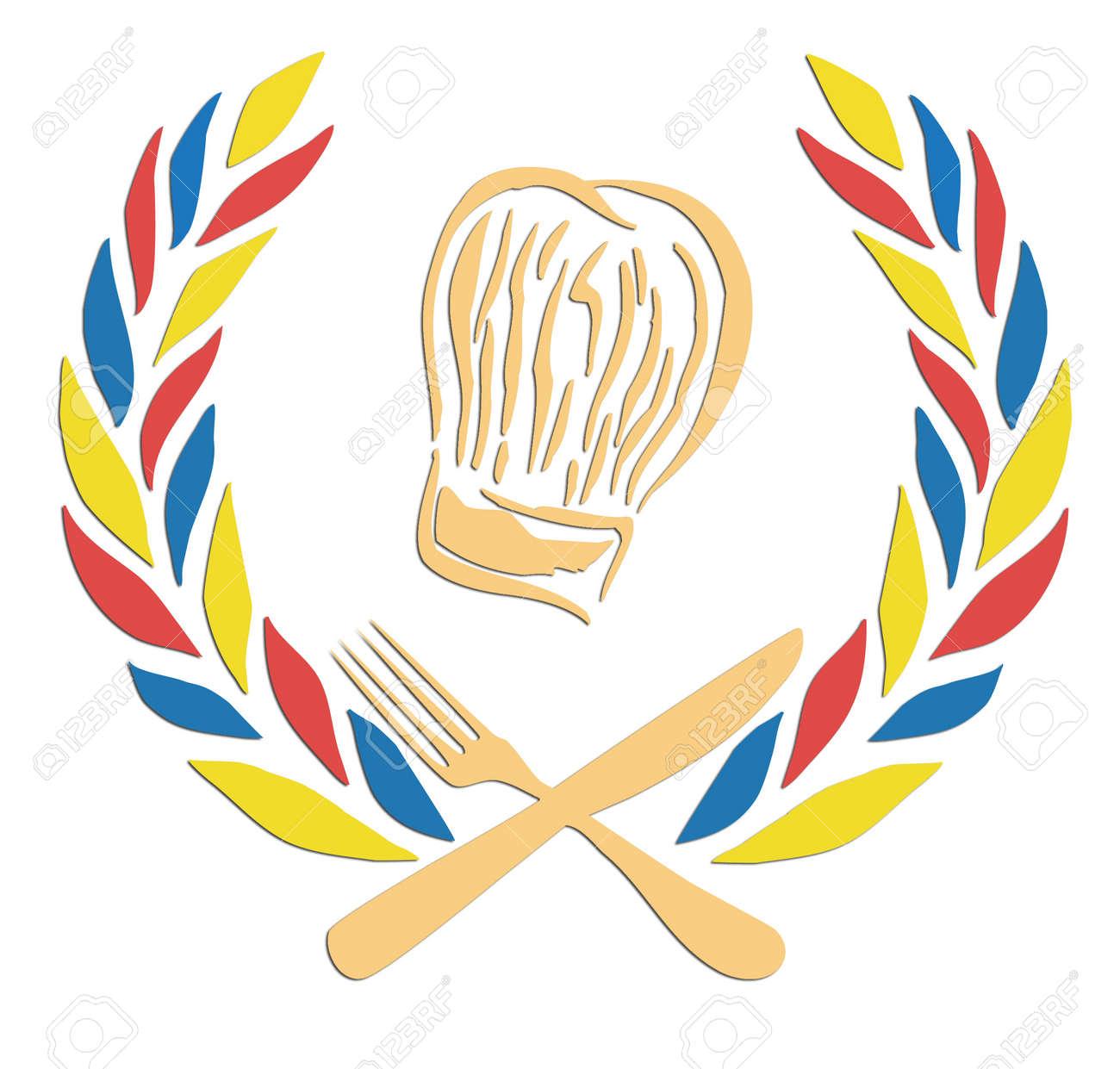 Vettoriale - Onore Della Cucina. (È Possibile Cambiare Il Cappello E ...