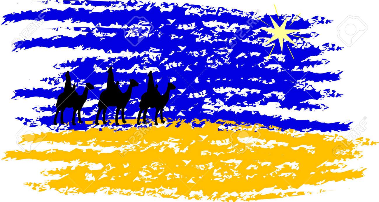 Christmas Nativity and Epiphany. Stock Vector - 5537488