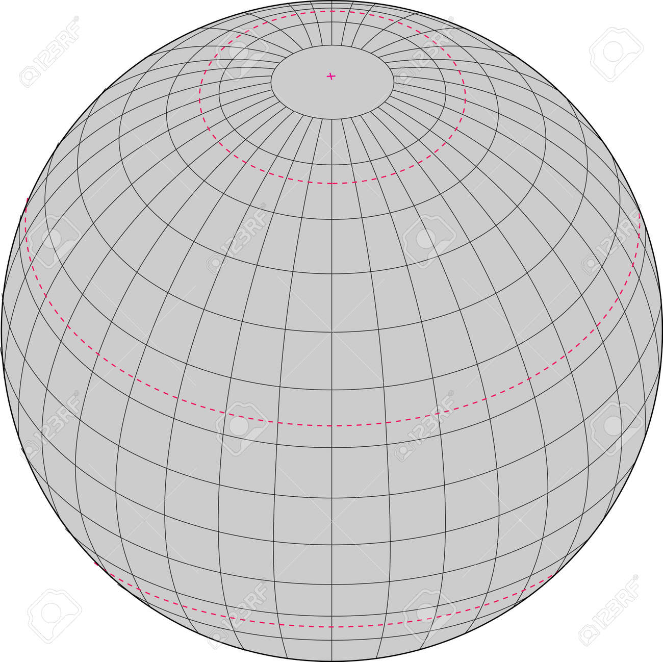 Wireframe Globe. Royalty Free Cliparts, Vectors, And Stock ...
