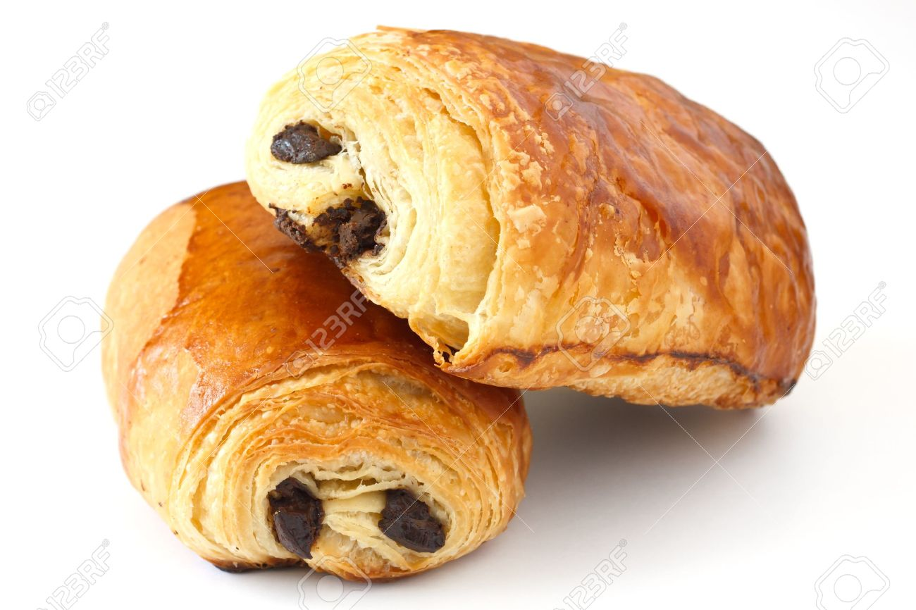 Chocolate Croissant Stock Photo, Picture And Royalty Free Image ...