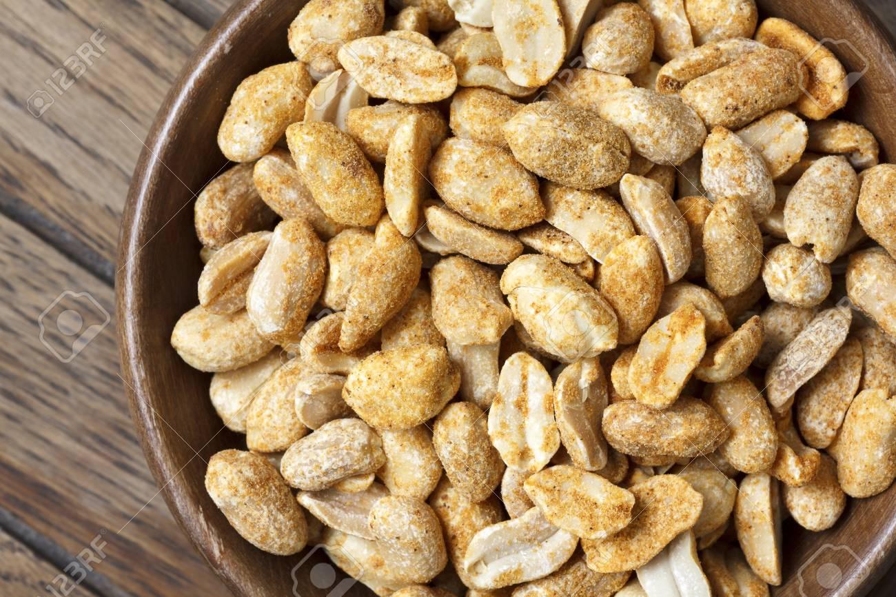 cacahuetes tostados en ingles